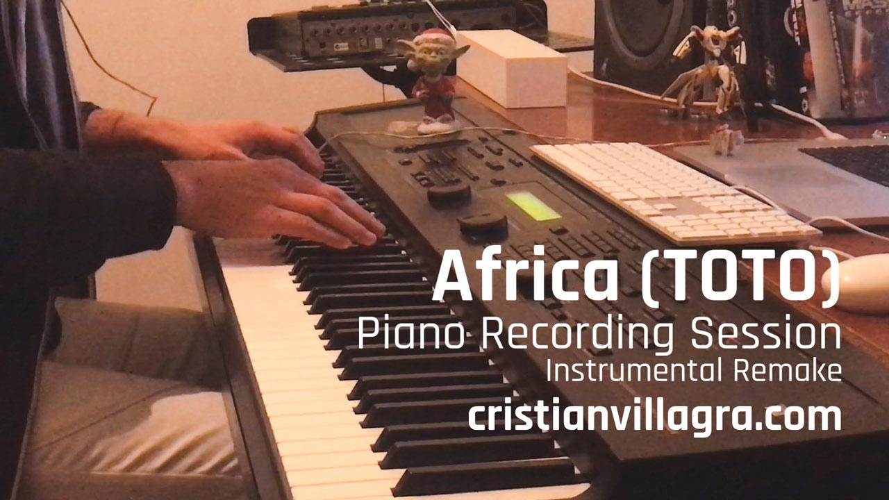 Africa - Piano Recording - Cristian R. Villagra