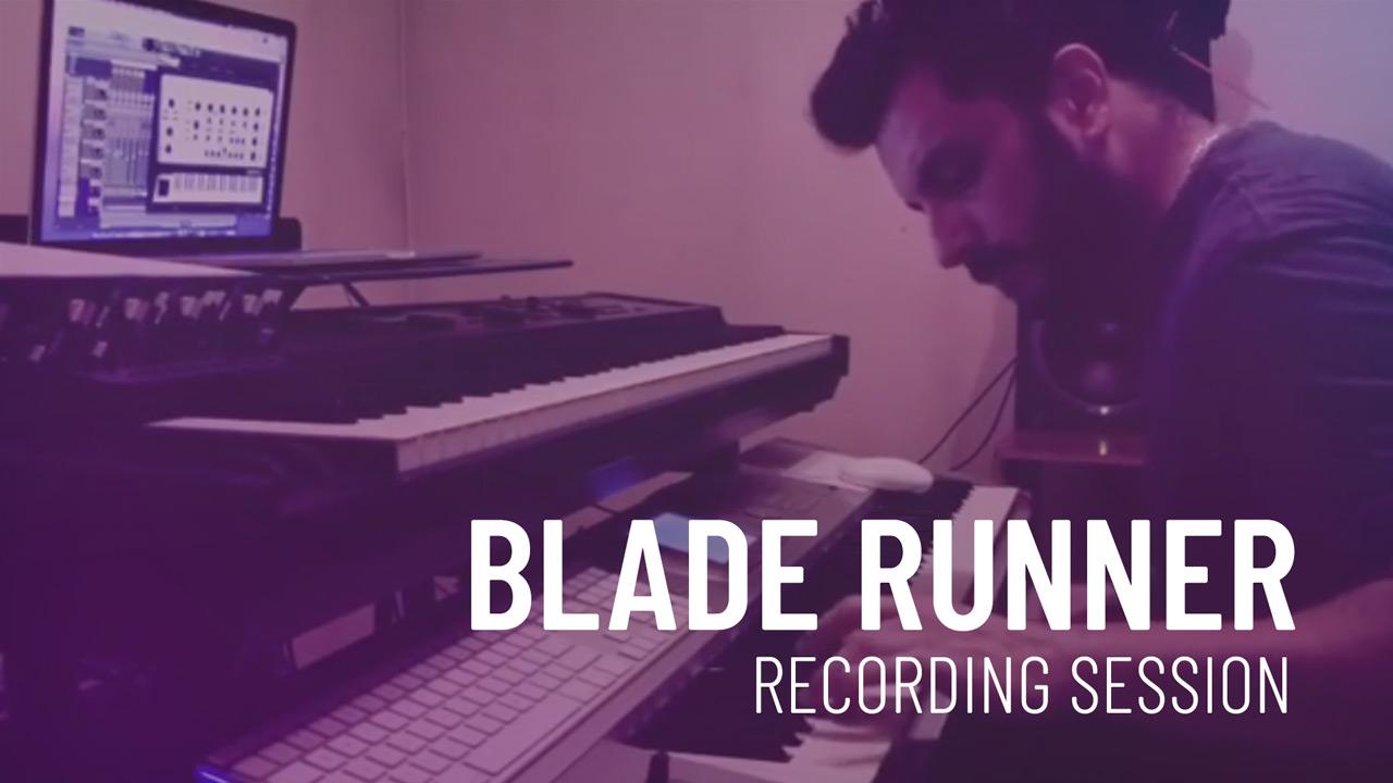 Blader Runner - Arpeggio Recording - Cristian R. Villagra