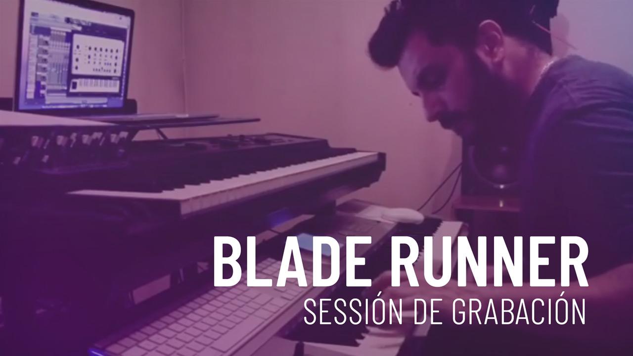 Blader Runner - Grabación Arpegio - Cristian R. Villagra