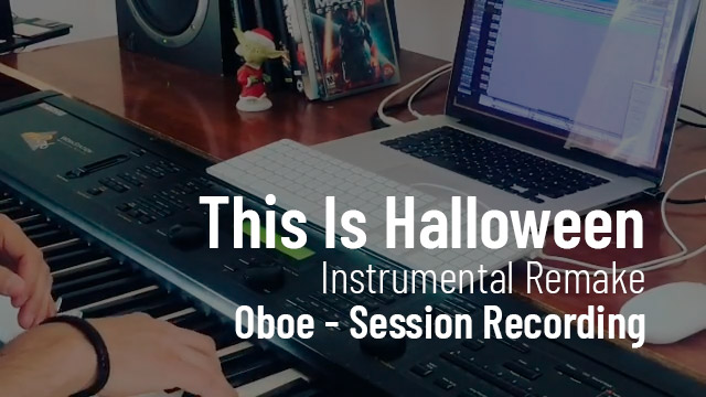 This Is Halloween - Grabando el Oboe - Cristian R. Villagra